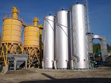 Vertikale Bitumentank-Systeme - Unsere Projekte