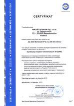 Certyfikat AD 2000 Merkblatt HP0 - Spełnienie wymagań spawalniczych do produkcji urządzeń ciśnieniowych