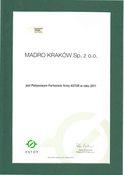 Diplom 2011 – platinium -partnerschaft mit firma astor