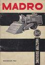Madro - Vademecum 1964 - Historische Katalog (auf Polnisch)